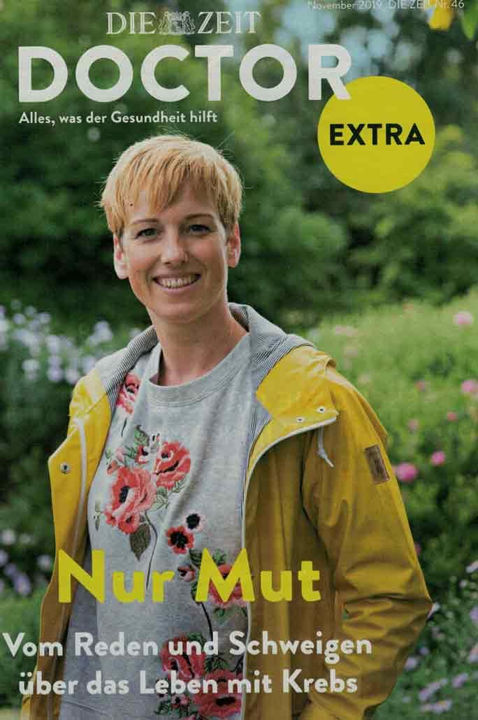 Die Zeit - Doctor extra - Nov 2019 - Brustkrebs_Selbsthilfegruppe_Potsdam