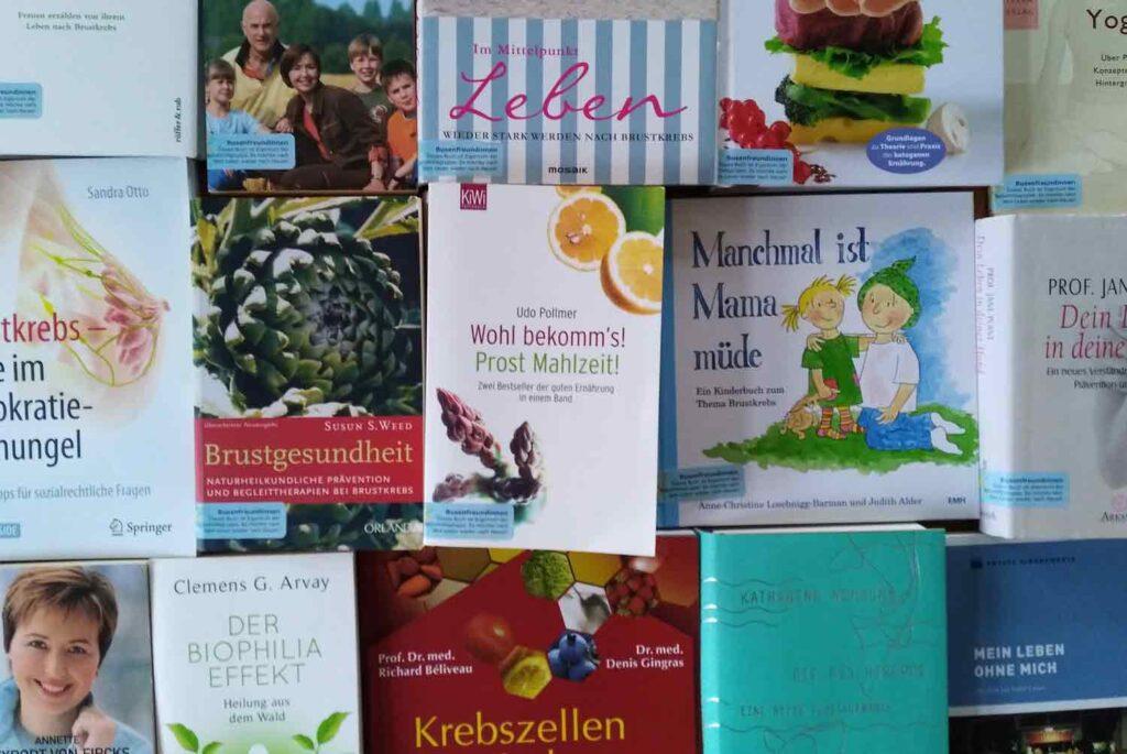 Bücher - - Brustkrebs_Selbsthilfegruppe_Potsdam