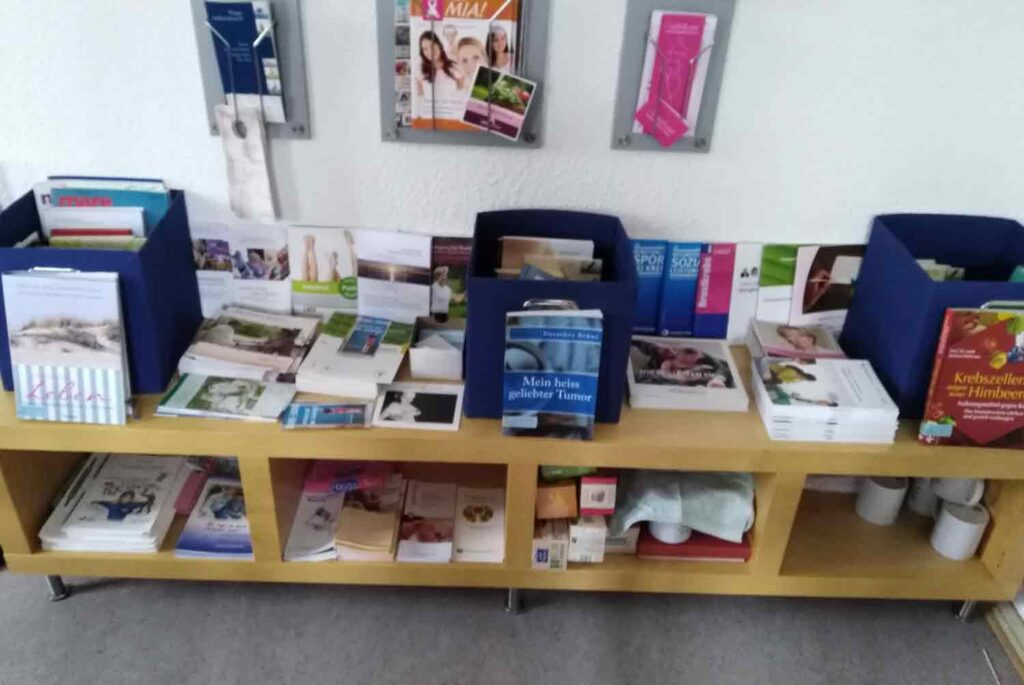 Infomaterial - Brustkrebs_Selbsthilfegruppe_Potsdam